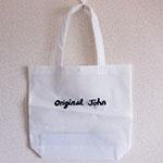 不織布バッグ+シルク両面1色印刷