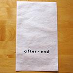 不織布平袋+シルク片面1色印刷